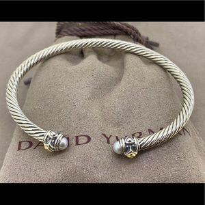 David Yurman Renaissance Bracelet with Pearls